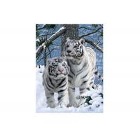 Buy cheap Vivid Tiger Image 3d Lenticular Image For Home 0.76mm Thickness 3d Animal Pictures product