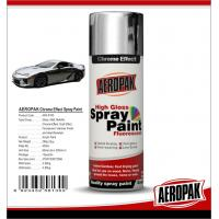 China Chemicals Chrome Spray PaintShock Resistance For Glass / ABS Plastics on sale