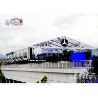 Buy cheap Transparent  Roof Cover  20X40M Outdoor Event Tents With Inside Decoration product