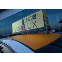 Buy cheap P 5mm Full Color Taxi LED Display Wireless 3G System 960mm x 320mm product