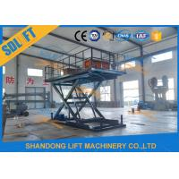 Buy cheap Home Residential Hydraulic Scissor Car Lift Garage Parking Car Lift CE Certificate product