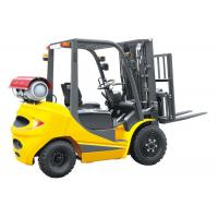 Buy cheap LPG 2.5 Ton Four Wheel Forklift 18km / H Travel Speed CE Certification product