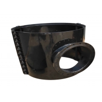 Buy cheap ASME B16.3 Ductile Iron Stainless Concentric Reducer  2.5Mpa product