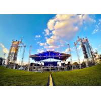 Buy cheap Lightweight Sound System Stage Roof Truss 12 x 8 x 8 Meter Size Easy Dismantle from wholesalers