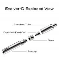 Buy cheap Portable Vaporizer dry herb ash Yocan Evolve-D dry herb Pen easily cleaning from wholesalers