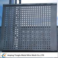 Buy cheap Perforated Metal Mesh Panels|1220X2440mm Standard Size With Opening 1~30mm product