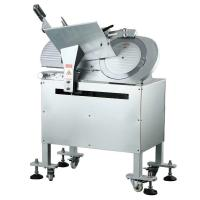 China 14 Inch Automatic Frozen Meat Slicer , Restaurant Meat Slicing Equipment on sale