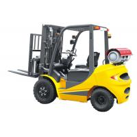 Buy cheap Speed 20km / H Dual Fuel Forklift 3.5 Ton , LPG Forklift Truck With Clear Visibility product