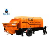 Buy cheap Stationary Mounted Electric Concrete Pump Trailer Large Capacity 80 M3 / H product