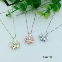 Buy cheap fashion jewellery import accessories sparkling sunflower two pieces set in rhodium plating from wholesalers