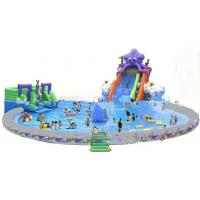 Buy cheap Giant Inflatable Water Park For Kids  / Inflatable Pool With Slides product