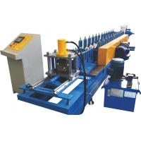 Buy cheap PLC Control Door Frame Roll Forming Machine With Perforation System from wholesalers