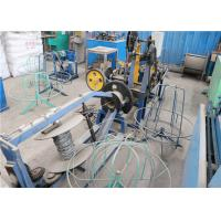 Buy cheap Stainless Steel Wire Barbed Wire Making Machine Compact Structure Saving Materials product