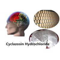 Buy cheap 99% Pure Powders Cyclazosin Hydrochloride (CAS: 146929-33-1) Promote Brain Cell Respiration, Improve Brain Function product