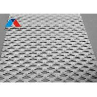 Buy cheap Light Weight Aluminum Mesh Panels , Expanded Metal Mesh Cladding product
