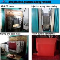 Buy cheap automatic hydraulic press moulding machine for Combination Instrument Transformer product