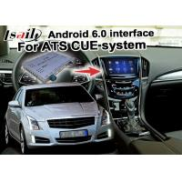 China Mirror link cast screen Android navigation box video interface for Cadillac ATS video on sale