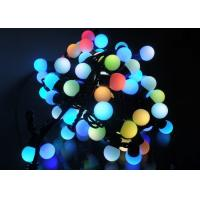 Buy cheap 5 Meters LED String Lights , 50LED RGB Multicolor Cotton Ball Globe String Lights product