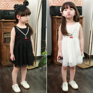 China girls lace cotton party dress on sale