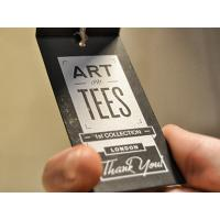 Buy cheap cardstock hang tags product