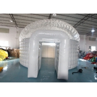 Buy cheap Half Transparent PVC 6m Inflatable Christmas Igloo Tent product