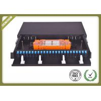 Buy cheap 48 Core 1U Type Fiber Optic Patch Panel Slidable ODF For SC Adapter Port product