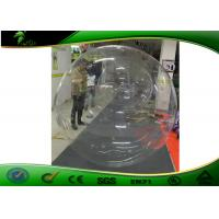 Buy cheap Rental Amazing Inflatable Water Toys / Transparent Balloon Blow Up With Hooks product