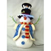 Buy cheap Stuffing Dressed Snowman Battery Power Musical Educational Toys for Preshoolers from wholesalers