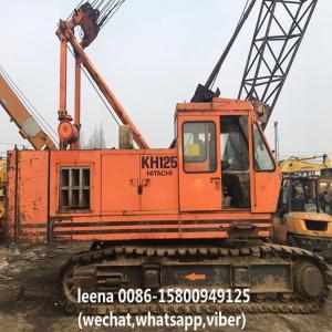 Buy cheap Used Hitachi Crawler Crane / Used Lattice Boom Crawler Crane Kh125-3 Made In Japan product
