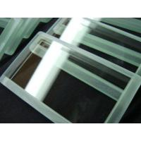 Buy cheap Customized Heat Resistant Optical Quality Glass Tempered Borosilicate Glass product