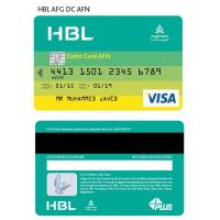 Foil hot stamping VISA smart credit card hico-magstripe at back card