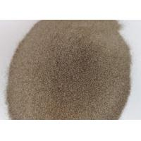 Buy cheap F24 F30 F36 Brown Aluminum Oxide Abrasive Media Magnetic Material 0.02% Max product