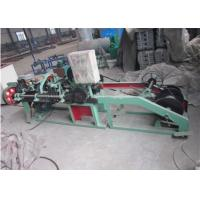Buy cheap 1.6 - 3.0 Mm Single Strand Barbed Wire Making Machine Durable Long Service Life product