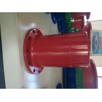 Buy cheap Red Epoxy Coating Ductile Iron Flange Pipe One End Flange Other End Spigot product