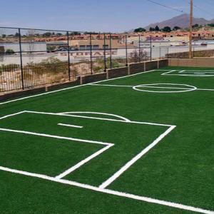 Buy cheap Athletes Football Synthetic Grass Field / Futsal Artificial Grass Flooring product