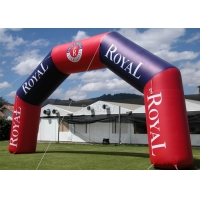 Buy cheap Outdoor Commercial Advertising Event Customized Logo Inflatable Race Start And Finish Entrance Line Arch/Archway product