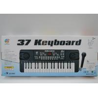 Buy cheap 37 Keys Electronic Keyboard Piano And Microphone Toy For Kids Lightweight product