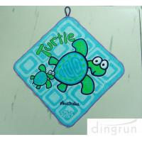 Buy cheap Cartoon Customized Luxury Hand Towels Bathroom Easy Clean Dry Fast Azo Free product