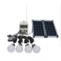 Portable solar system DC 20W Solar lighting kit Phone charger