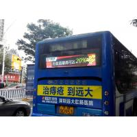 Buy cheap Bus Back Advertising Bus LED Display , High Brightness P5 bus destination sign IP65 product