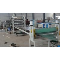 Buy cheap Advanced Technology Plastic Sheet Extrusion Line , PE Single Screw Extruder Machine from wholesalers