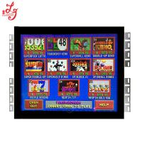 Buy cheap 19 Inch Touch Screen Open Frame POG Game Monitor Rs232 Infrared 55Hz-75Hz from wholesalers