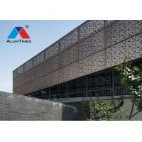 Buy cheap Recyclable Perforated Aluminium Screen For Commercial Building Wall Decoration product