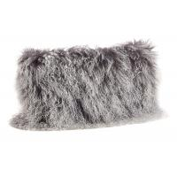 Buy cheap Tibetan Sheepskin Sofa Pillow Covers 10-15cm Long Curly Hair For Bed / Sofa / Chair product