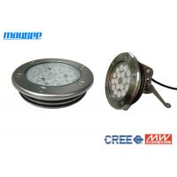 Buy cheap IP68 54w Dmx RGB Led Pool Lights For Pond / Fountain / Swimming Pool product