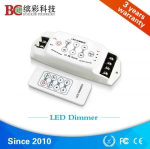 Buy cheap China DC 12V 24V 3 channels led light dimmer, strobe flash RF single color led dimmer product