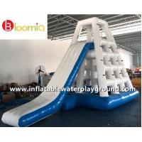 China Commercial Inflatable Water Games Jungle Joe With Slide For Lake Or Ocean on sale