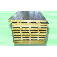 Buy cheap Color Sheet Sandwich Panel Making Machine For Mineral Wool Board 28kw product