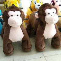 China Hansel amusement walking zoo ride coin operated game kiddy animal toy rides on sale