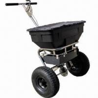 Buy cheap Salt Spreader, Used for Seed, Salt and Fertilizer, Precise Adjustable Handle product